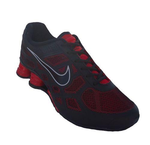 daf21530d48 ... spain tênis nike shox turbo 12 preto e vermelho 17523 ab3cc